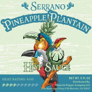 Serrano Pineapple Plantain Hot Sauce is COMING SOON! Get your pre-order on if you would like me to ship it out the second I get it in!